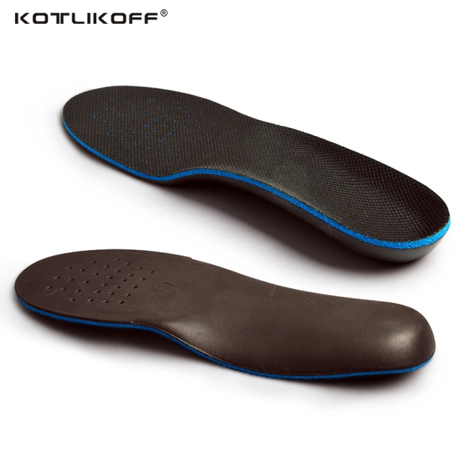 KOTLIKOFF Orthopedic Insoles Comfortable Orthotics Flat Foot Insole Insert Arch Support Pad for Plantar Fasciitis Men Women 2017 gel 3d support flat feet for women men orthotic insole foot pain arch pad high support premium orthotic gel arch insoles