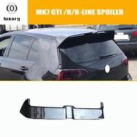 MK7 Carbon Fiber Rear Roof Trunk Wing Spoiler for Volkswagen Golf 7 VII MK 7 GT I & R & R LINE 2014 2015 2016 2017 2018