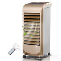Remote Control Cold Fan Cold Fan Air Conditioning Fan BL 128DL Champagne Gold Mini Portable Air Conditioner Cooler Room