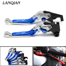2018 New arrivals High Quality Motorcycle CNC Adjustable Brake Clutch Levers For Suzuki GSF1250 GSF1200 GSF650 Bandit 650S universal cnc motorcycle brake clutch levers for suzuki hayabusa gsxr1300 gsx650f gsf1250 bandit adjustable motor brake levers
