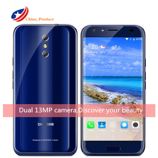 DOOGEE BL5000 4G Special Phone Dual 13 0MP Camera 4GB 64GB Android 7 0 5050mAh 12V2A