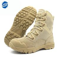 Outdoor Genuine Leather U.s. Military Assault Tactical Boots Breathable Anti slip Men Fishing Travel Hiking Shoes