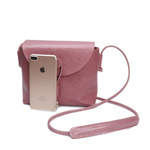 Image 2 - Borsa a tracolla da donna Zency stile semplice 100% borsa a tracolla piccola in vera pelle con patta piccola borsa a tracolla marrone nera