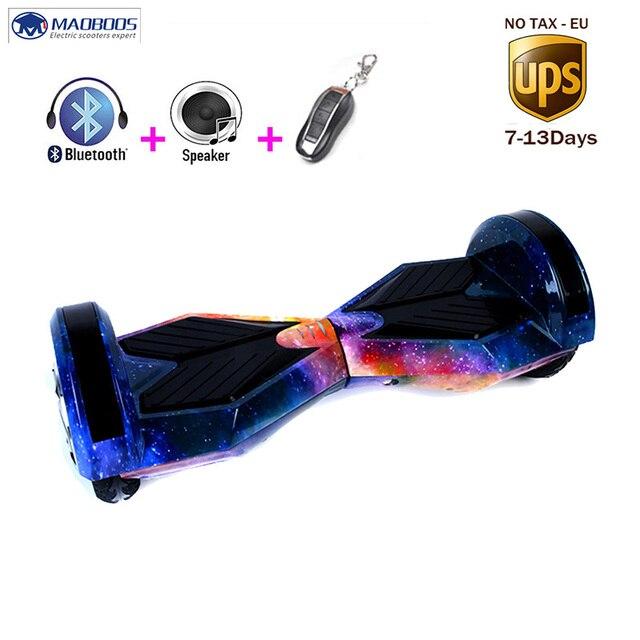 Самостоятельная Баланс скейтборд Ховербордом светодиодный Kick gyroscooter Скайуокер стоя Hover доска твердое колесо за бортом Hover доска