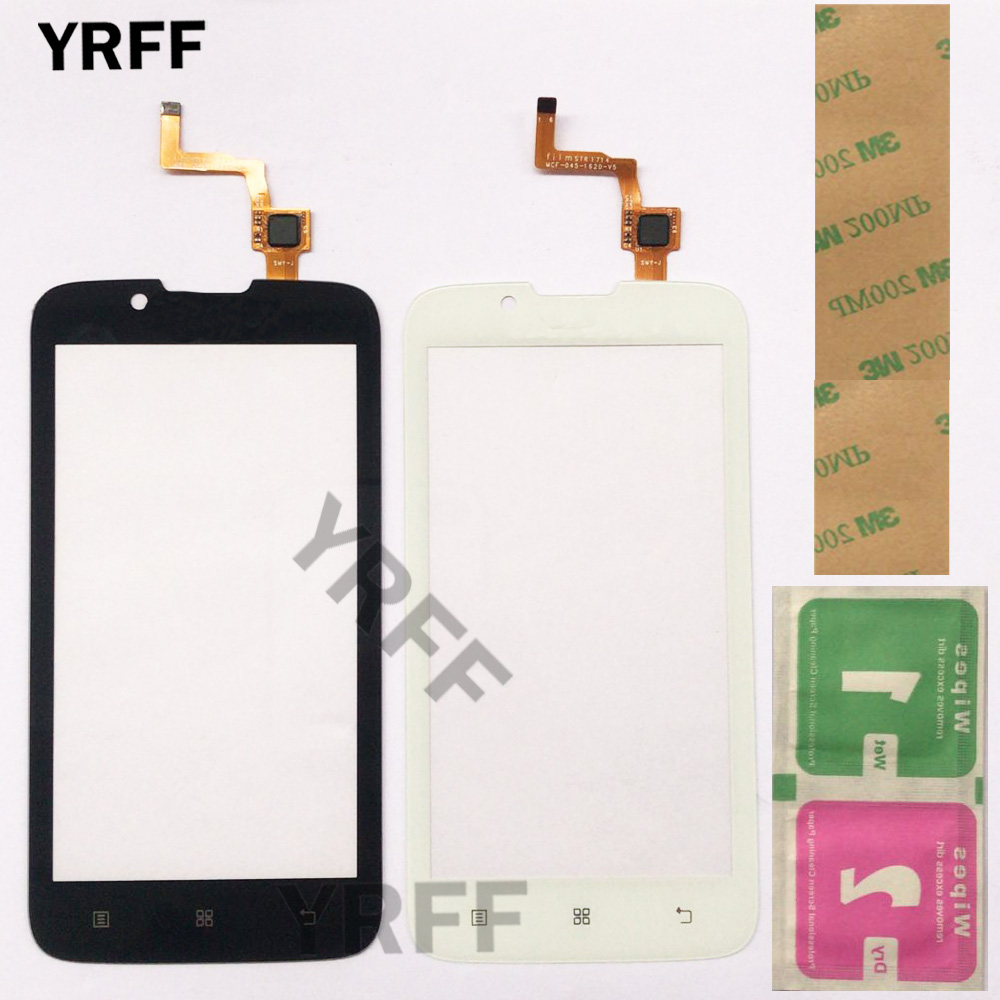 4.5'' Mobile Touch Screen For Lenovo A328 A 328 Touch Screen Digitizer Front Glass Lens Sensor Panel TouchScreen Gift
