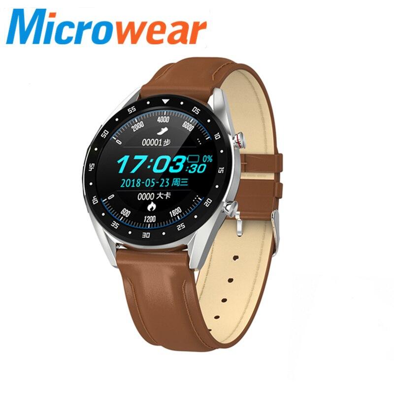オリジナル L7 smart watch 男性 xiaomi huawei iphone ECG 血圧心拍数ストップウォッチリロイスマートウォッチ hombre 2019 新  グループ上の 家電製品 からの スマートウォッチ の中 1