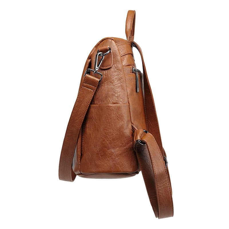 Новая женская сумка из натуральной кожи Mochila Feminina 2018 Rugzak женский рюкзак и сумка для путешествий, школьные рюкзаки рюкзак, Женская Повседневная C567
