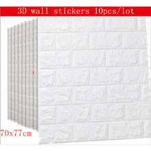 10 шт. 70 х 77 см пенополиэтилен 3D стены наклейки Home Decor Обои DIY Настенный декор кирпич гостиная дети Спальня Кухня стены наклейки