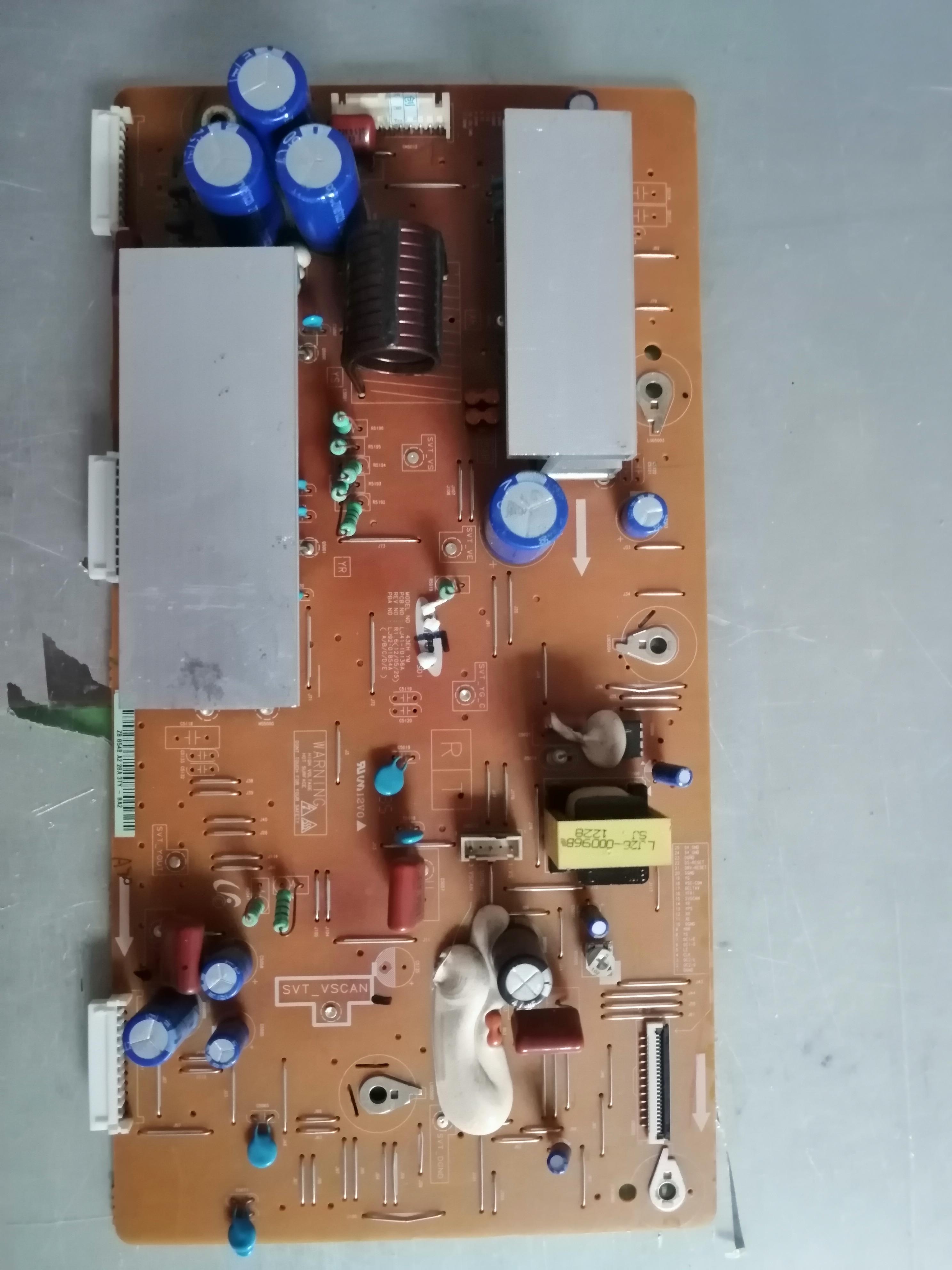 Original 3D42A3700ID S43AX-YB01 Connect Wtih Y Board LJ92-01854A LJ41-10136A  T-CON Connect Board Video