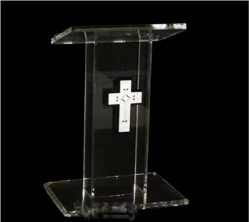 Free Shipping Modern Acrylic Hot Sale Publipt   Acrylic Pulpit Modern And Stylish 2019 Acrylic Pulpit Church