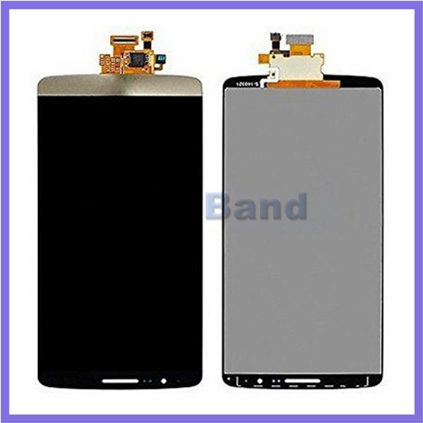 ФОТО 100% Work Gold Touch Screen Digitizer + LCD Display Full Assembly For LG G3 D850 D851 D855 VS985 LS990