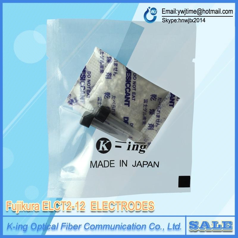 bilder für Fujikura ELCT2-12 Elektroden FSM-11S/FSM-11R/FSM-12S/22 S/21 S Optical fiber fusion splicer
