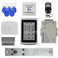 DIYSECUR Electric Bolt Lock Remote Control 125KHz RFID Metal Case Keypad Door Access Control Security System Kit 7612