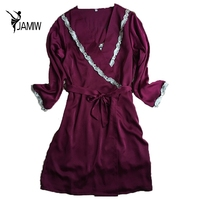 Brand New Design Autumn Long Sleeve Bridesmaid Bathrobes Fashion Sexy Sleepwear Robes M L XL XXL