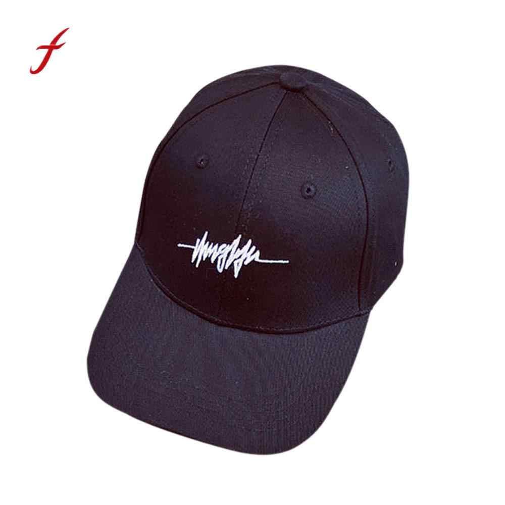 Feitong Quality Spring Baseball Cap Cotton Caps For Women Men Couple Letter  2018 Baseball Cap Unisex f3c6e4e3b284