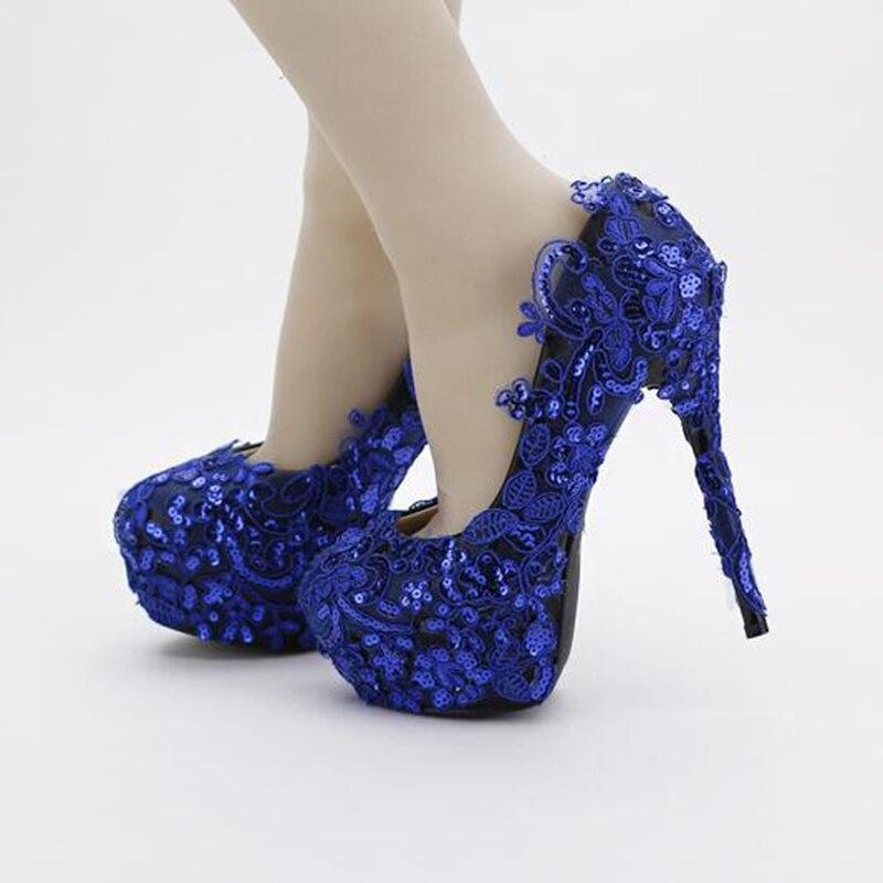 Cheap Royal Blue Heels