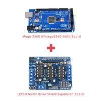 L293D Motor Drive Shield Expansion Board Mega 2560 ATmega2560 16AU Board For Arduino