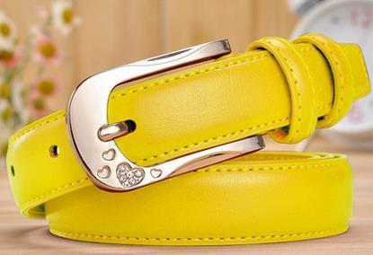 2015 Venta Limitada Solid Adulto envío Cinto masculino Cinturones para de las mujeres Correas para Las Mujeres de Moda de Cuero Correa de Cintura de La Señora Pura femenino