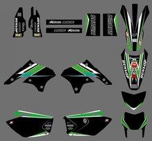 GRAPHICS & MILIEUX DÉCALQUES voiture Kits Pour Kawasaki KLX450 2008 2009 2010 2011 2012 KLX 450