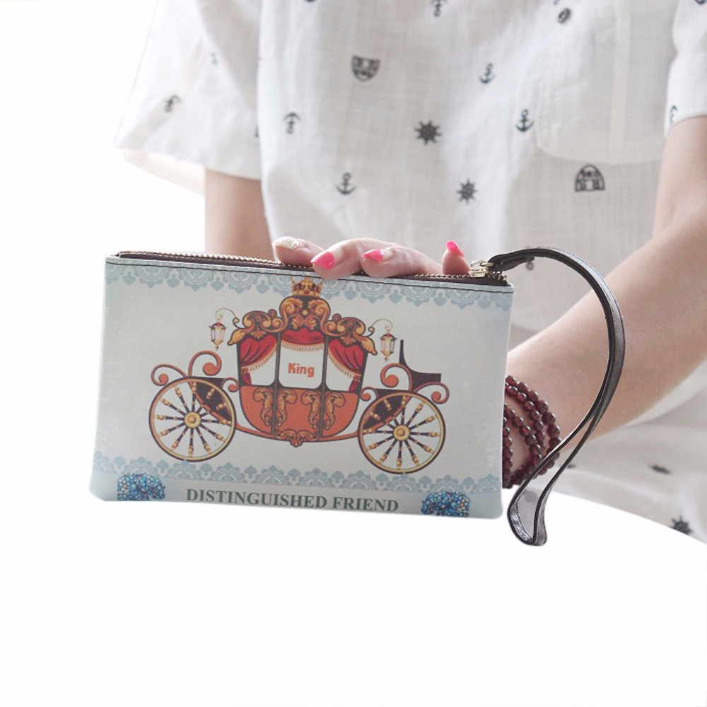 Aelicy new coin purse animal picture women small zipper coin purse coin wallet women vintage retro for children carteira