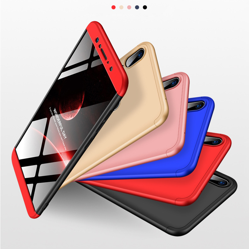 Купить с кэшбэком 3-in-1 360 Tempered Glass + Case For ASUS Zenfone Max Pro M1 ZB602KL Back Cover Case for Asus ZB602KL 602KL ZB 602KL Glass Gift