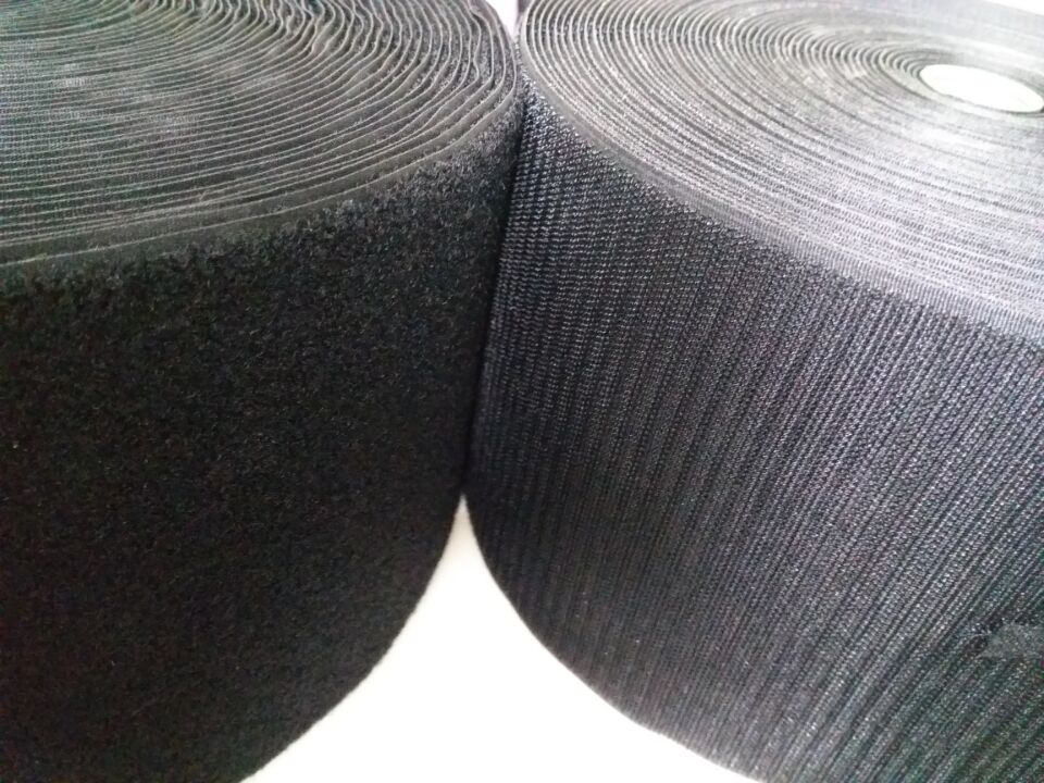 2 Rollos / juego 15cm * 25m de coser Correas de gancho y bucle Cinta - Artes, artesanía y costura - foto 1