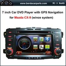 7 de polegada de Dvd Do Carro com GPS de Navegação para Mazda CX-9