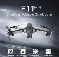 Радиоуправляемый Дрон SJ F11 gps 5G 1080 P камера длинный Летающий бесщеточный двигатель складной рычаг селфи для ребенка подарок