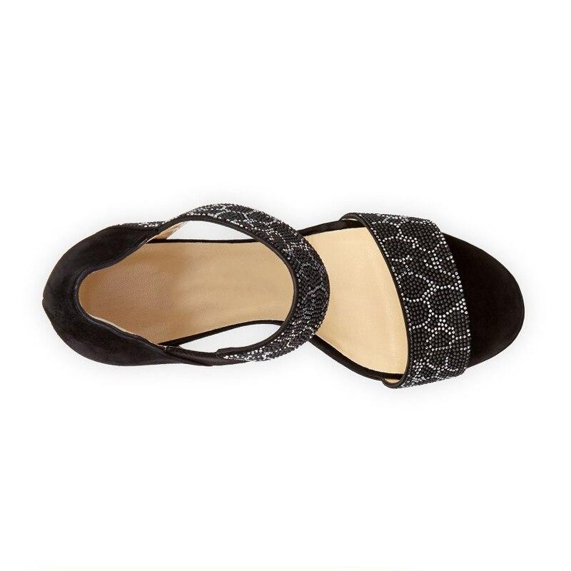 Altos 2018 Zapatos Negro 33 Alta Tacones 43 Plataforma Tallas En De Grandes Doratasia Verano Sexy Mujer Calidad Sadanls Slip xwvg4a