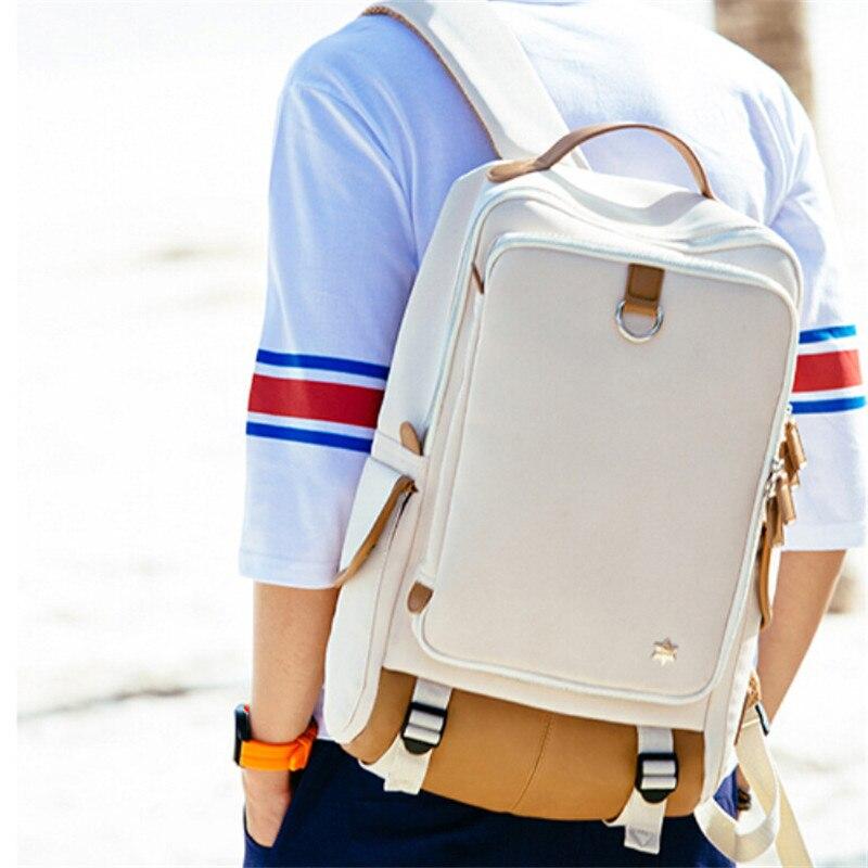 2019 hohe Qualität Große Kapazität Rucksack für Frauen Männer Marke Design Knapsack Wasserdicht Schul Multi Funktion Laptop Taschen-in Rucksäcke aus Gepäck & Taschen bei  Gruppe 1