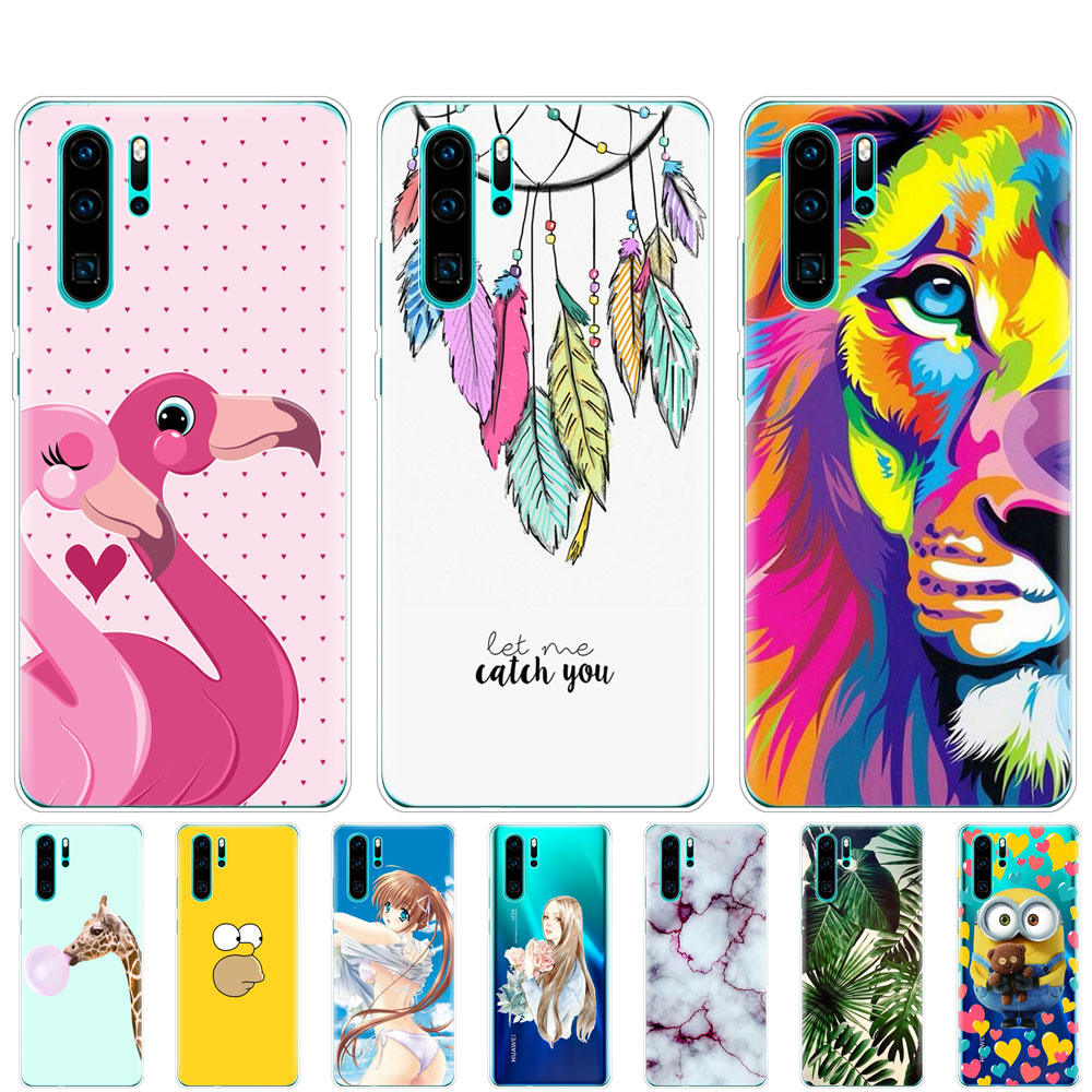 cases for Huawei P30 Pro Case Huawei P30Pro Case Silicone TPU Phone Back Cover On Huawei P30 Pro VOG-L29 ELE-L29 P 30 Lite Case