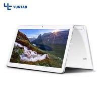 K107 Yuntab 10.1 pulgadas Tablet PC Quad-Core 1 GB + 16 GB Phablet con Doble Cámara de $ number MP apoyo 2MP Dual Ranuras Para Tarjetas Sim