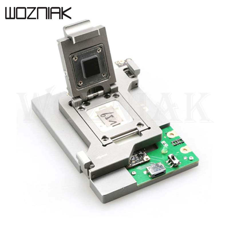 Wozniak 5 in 1 For iPhone 5 5C 5S 6 6 Plus NAND Flash HDD Test Fixture Jig Holder Memory CHIP IC Test Tools