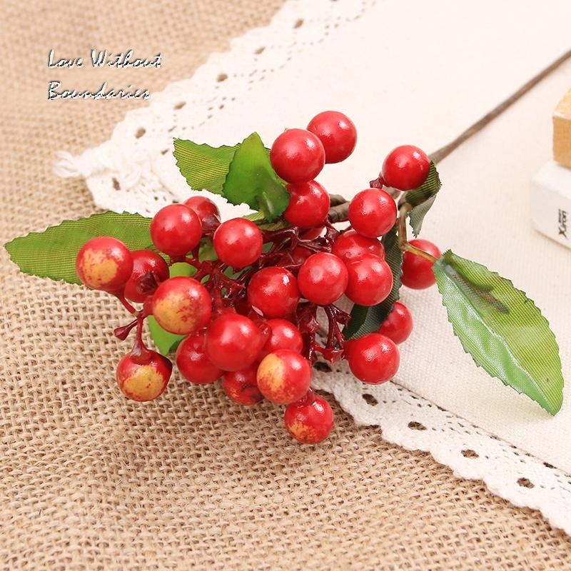 Knstliche Blume Simulation Einrichtungs Wohnzimmer Tischdekoration Dekoration Floral Berry Schiessen Requisiten