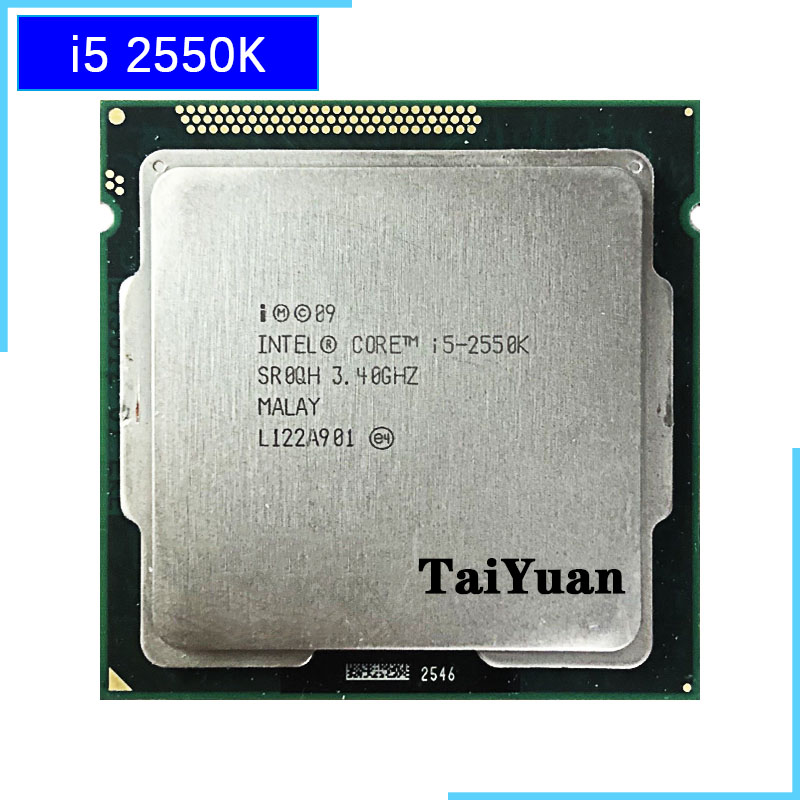 Intel Core i5 2550K i5 2550K 3 4 GHz Quad Core CPU Processor 6M 95W LGA