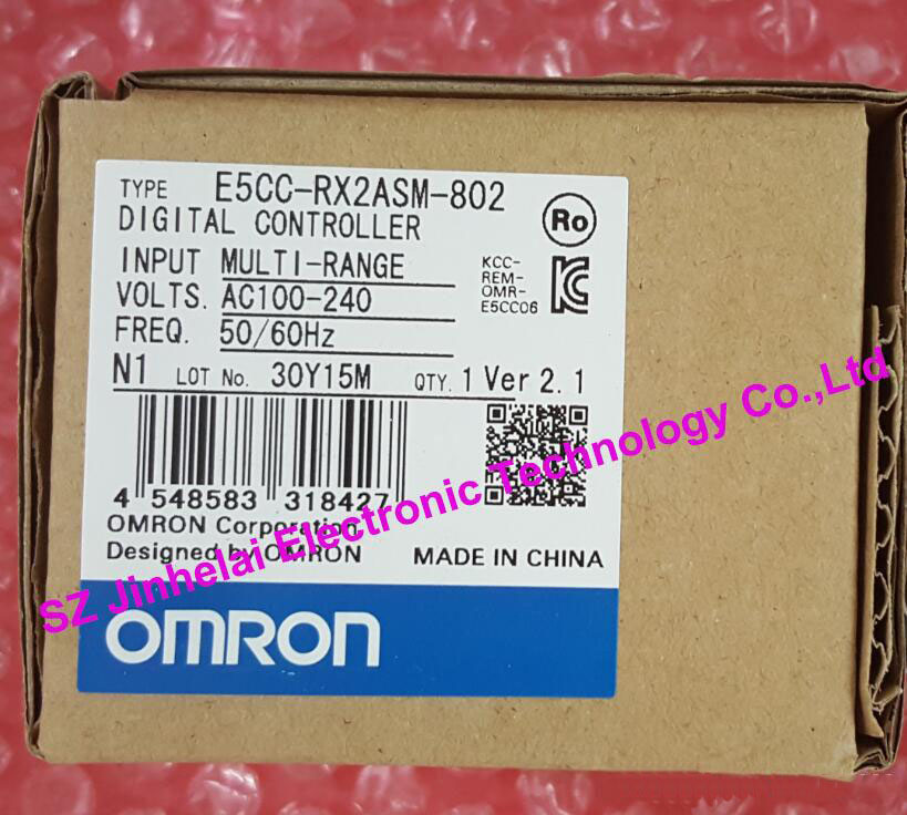 E5CC-RX2ASM-802  OMRON New and original  DIGITAL CONTROLLER  Digital temperature controller   AC100-240V