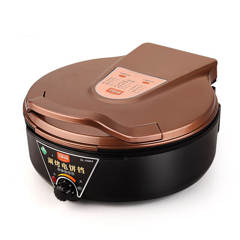 Household Electric Multi Cooker Grills Oven Cooker Hot Pot Multi-functional Smokeless Electric Roast Double Heating DL-100KS