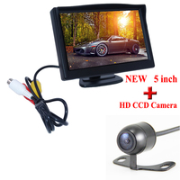 Promotion NEW 5Inch TFT LCD Digital Car Rear View Monitor HD LCD Display 800 480 Car