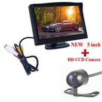 Promotion NEW 5Inch TFT LCD Digital Car Rear View Monitor HD LCD Display 800 480 Car