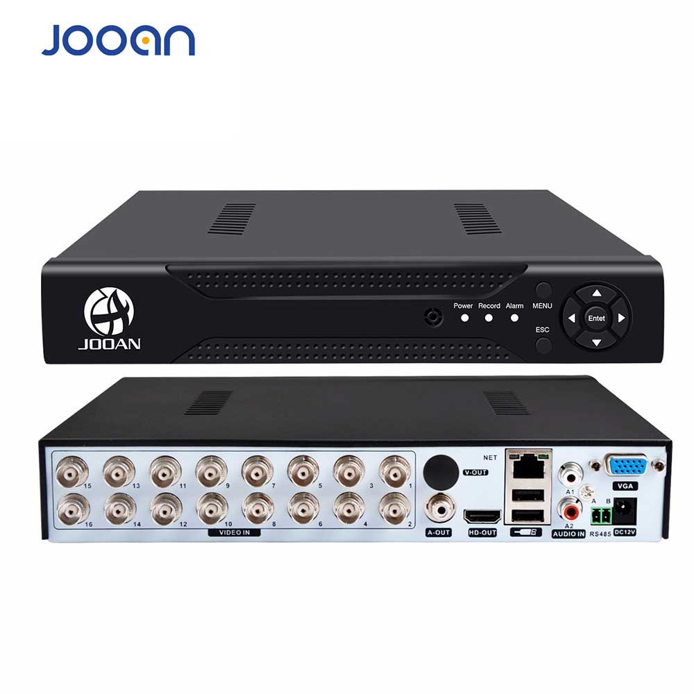 JOOAN 4216T 16-KANAL-CCTV-DVR-H.264-HD-OUT-P2P-Cloud-Videorecorder für Heimüberwachungssicherheit Digitaler CCTV-Videorecorder