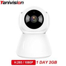 H.265 1080 P 2MP аудио Wi-Fi ip-видеонаблюдения Камера HD Mini Беспроводной видео Видеоняни и радионяни P2P Крытый безопасности умный дом ИК Ночное видение