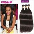 Peruvian Virgin Hair Straight 3 Bundles 7A Virgin Unprocessed Human Hair Connie Hair Products Peruvian Straight Virgin Hair