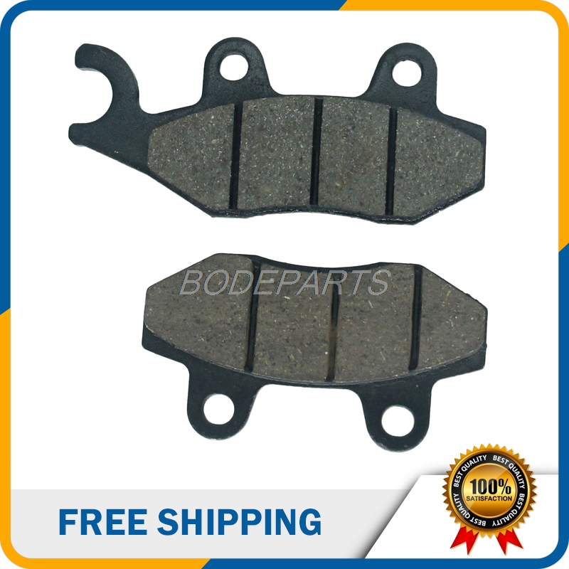 Motorcycle Front Brake Pads For Yamaha YZ125 YZ250 TTR250 Kawasaki KDX200 KDX250 KLX250 Suzuki RM125 DR250 DR350 Free Shipping motorcycle front rider seat leather cover for ktm 125 200 390 duke