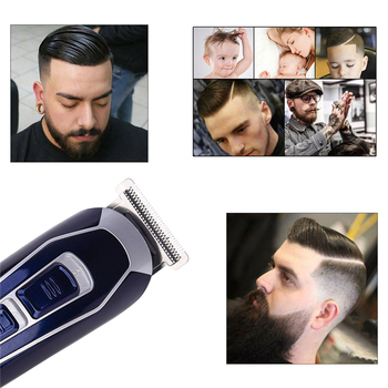 Electric Hair Clipper Rechargeable Low Noise Hair Trimmer Hair Cutting Machine Beard Shaver Trimer For Men Barber Hair Shaving 3