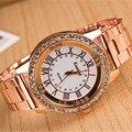 2017 Luxury Brand Gold Watches Women Dress Watches Stainless steel Analog Casual Sports Wristwatches Ladies Quartz Clock AC024