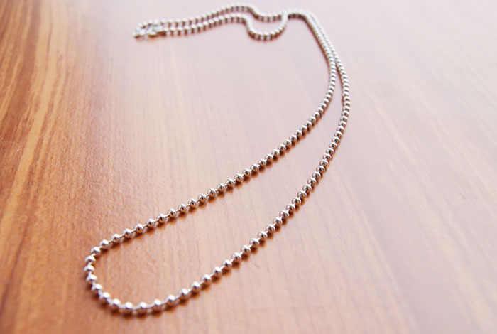Đơn giản 925 sterling bạc vòng cổ trung tính bóng vòng cổ phổ biến đồ trang sức quyến rũ rắn vòng cổ bạc 61 cm kích thước miễn phí vận chuyển