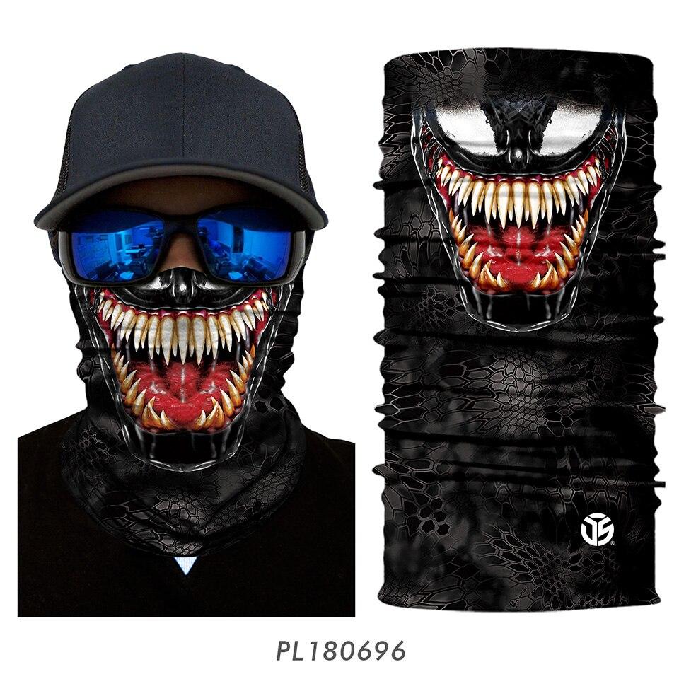3D Balaclava Venom Motorcycle Mask 21