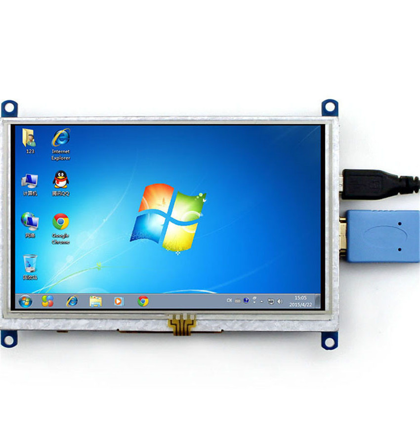 High Qulity Raspberry Pie Screen 5 Inch HDMI LCD Display For Raspberry Pie BB BLACK PC