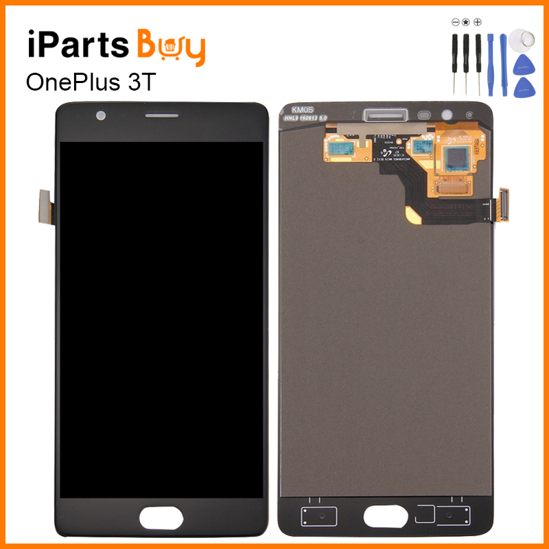 iPartsbuy OnePlus 3t LCD Screen LCD Display Touch Panel Digitizer Assembly Replacement For OnePlus 3T Touchscreen Display