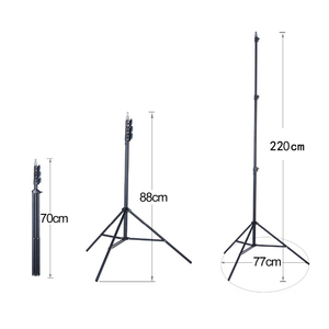 """Image 4 - FIRECORE 2.2M/3M Laser Level Tripod Laser Adjustable 3/4 Knots Height Tripod/Bracket 1/4"""" With Adapter"""